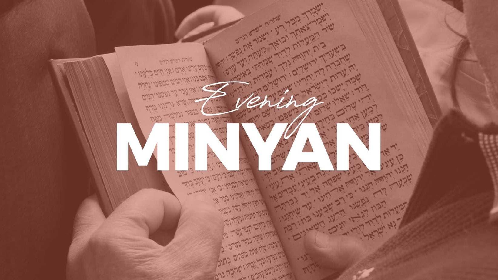 evening-minyan