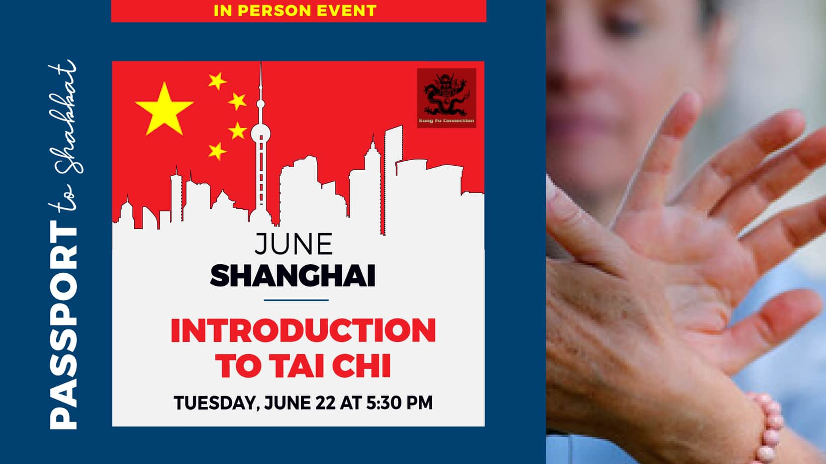 Social Media-June 22- in person event