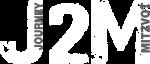 logo J2M WHITE